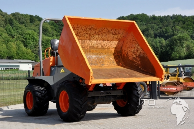 ausa d900ap mini dumper for sale in good used condition. Black Bedroom Furniture Sets. Home Design Ideas