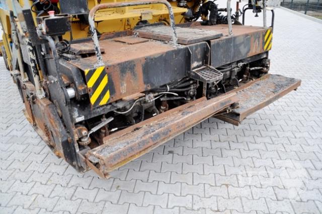 Concrete Paver Finisher : Bitelli bb radferiger paver finisher road