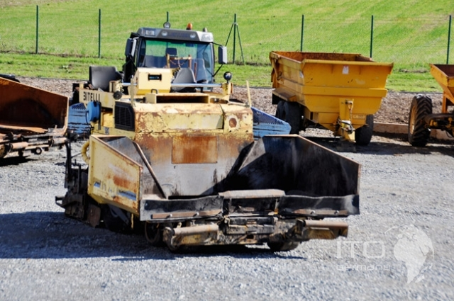 Concrete Paver Finisher : Radferiger paver finisher bitelli bb