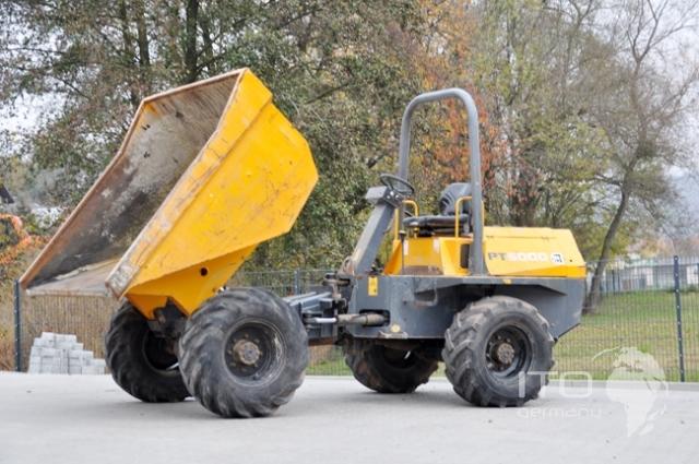Benford dumper 6005 CTRA used articulated dump truck