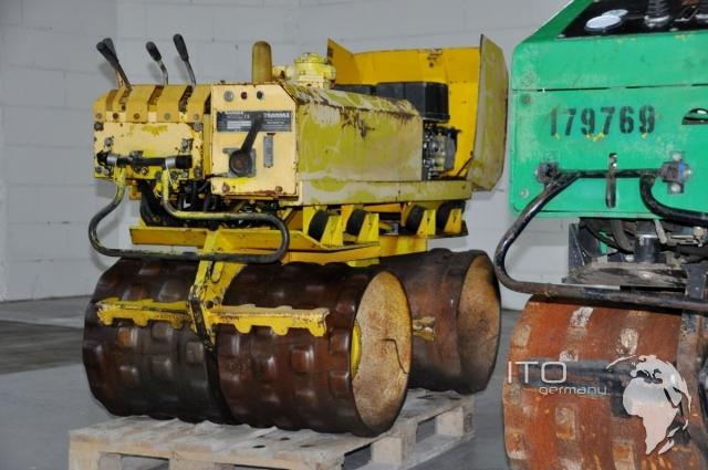 Compacteur De Tranch U00c9es Rammax Rw1403 Usag U00e9 Rouleau Acheter