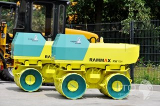 Rammax Rw Hfk on An Machinery Trench Roller Fuel Tank Capacity