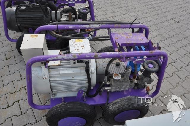 Used Machinery Clean Mit Falch Profi High Pressure Cleaner