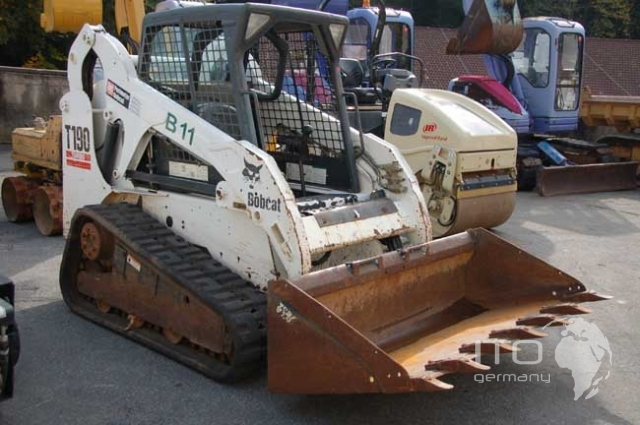 skid steer loader bobcat t190 used. Black Bedroom Furniture Sets. Home Design Ideas
