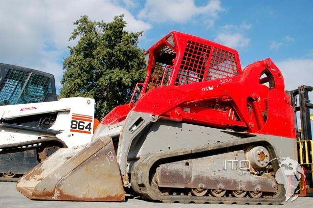 Raupenkompaktlader Bobcat gebraucht in rot  Bild Modell Bobcat T190