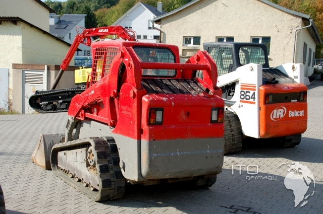 gebrauchter skid steer loader bobcat t190 raupenkompaktlader. Black Bedroom Furniture Sets. Home Design Ideas