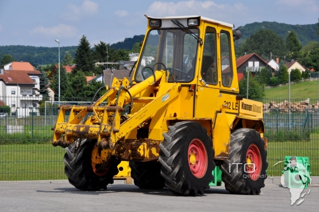 kramer 312 wheel loader loader used to buy siehe pictures. Black Bedroom Furniture Sets. Home Design Ideas