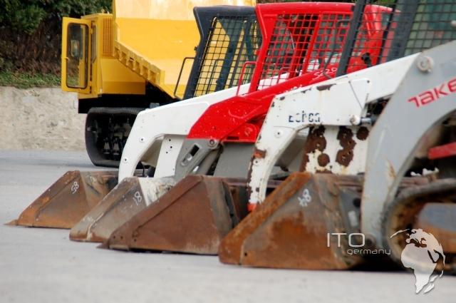 skid steer loader loader Takeuchi TL230 Track Loader