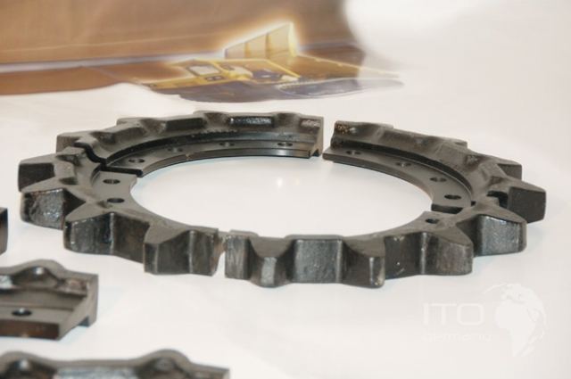Morooka Mst2200vd Sprockets Turas Undercarriage Parts