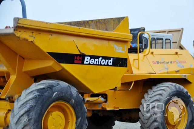строительство колесный думпер Benford 6000А