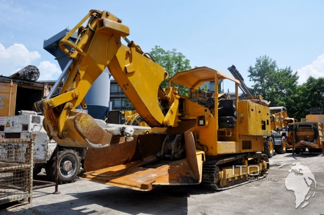 Used Schaeff Terex ITC 112 HRS Tunnelbagger
