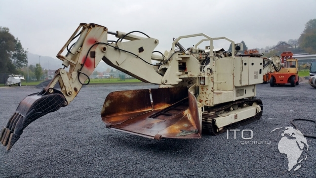 Tunnel Excavator Terex Schaeff Itc 112 Used To Sell