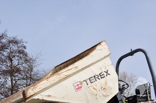 Engins De Travaux Publics Mini Dumper Dumper Transporteur  U00e0 Chenilles Benford Terex Pt6000