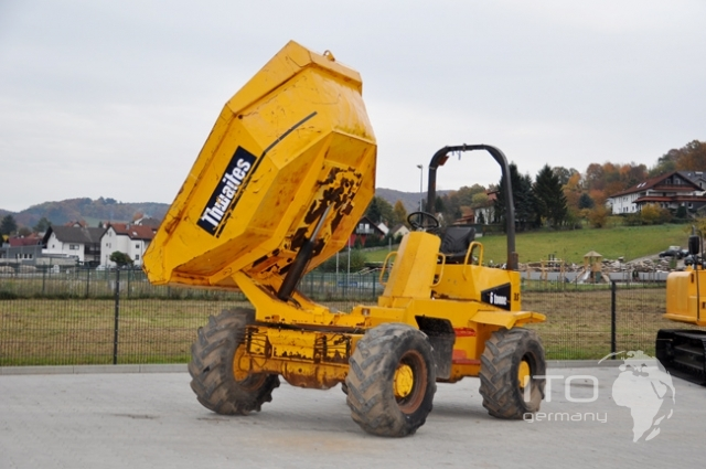 dumper thwaites 6 tonne gebrauchte minidumper. Black Bedroom Furniture Sets. Home Design Ideas