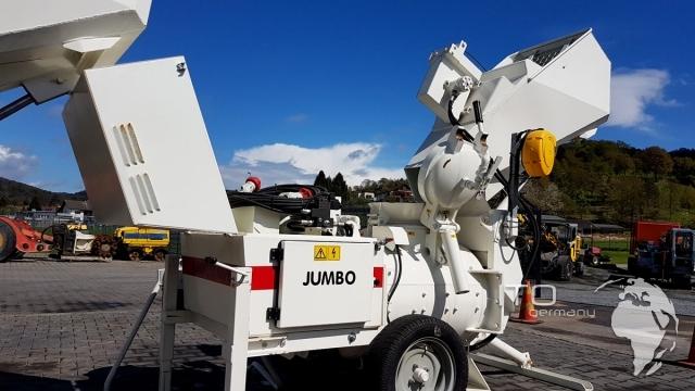 New Concrete Floor Screed Machine Hire Jumbo St03 Self Loading