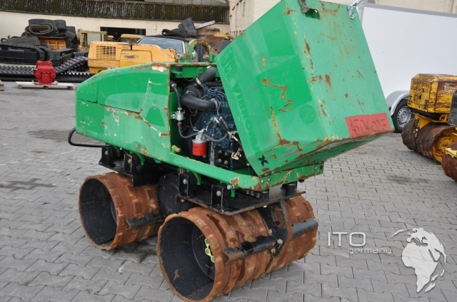 Trench Compactor Jcb Vibromax Vm1500 Used
