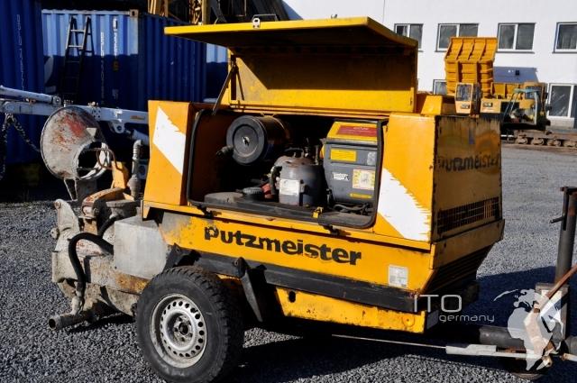 concrete floor screed machine used concrete pump putzmeister