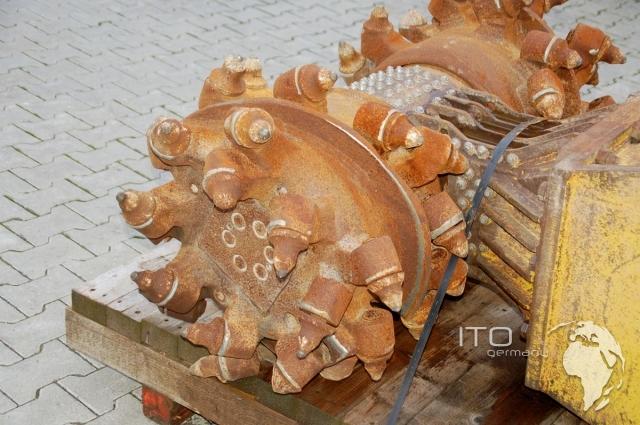 Anbaufräse Bagger Eickhoff 30 ETH