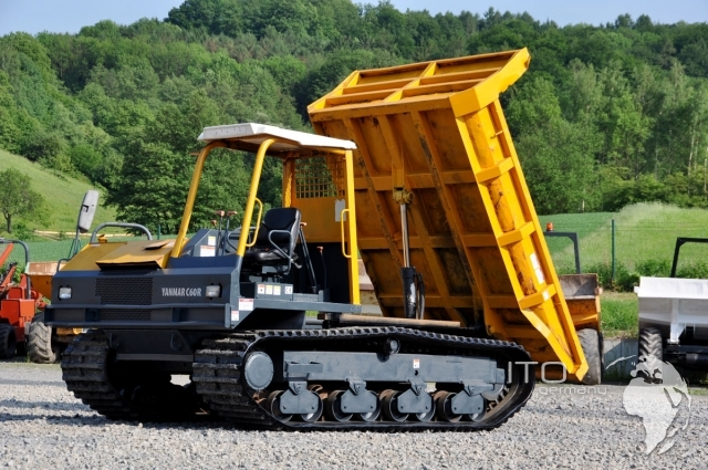 camion cingolati per paludi  Tracked-dumper