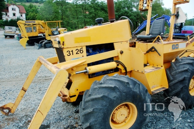 Parsons D60 Cable Plow Used All Wheel Drive Diesel
