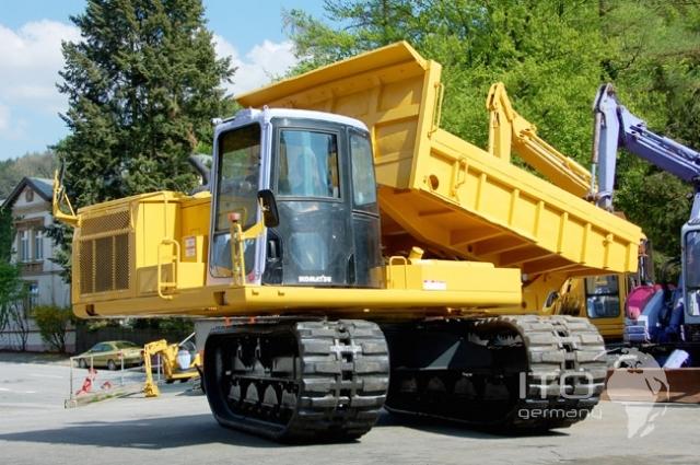 camion cingolati per paludi  Komatsu_CD60_R