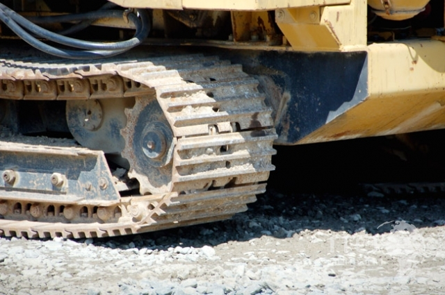 Vermeer T800 ditch trencher Felsfraese used