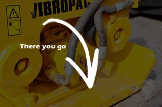 Vibropac / Anbaurüttelplatte