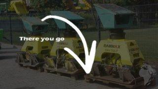 Rammax Ammann / RAV750-P
