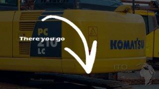 Komatsu / PC210-8